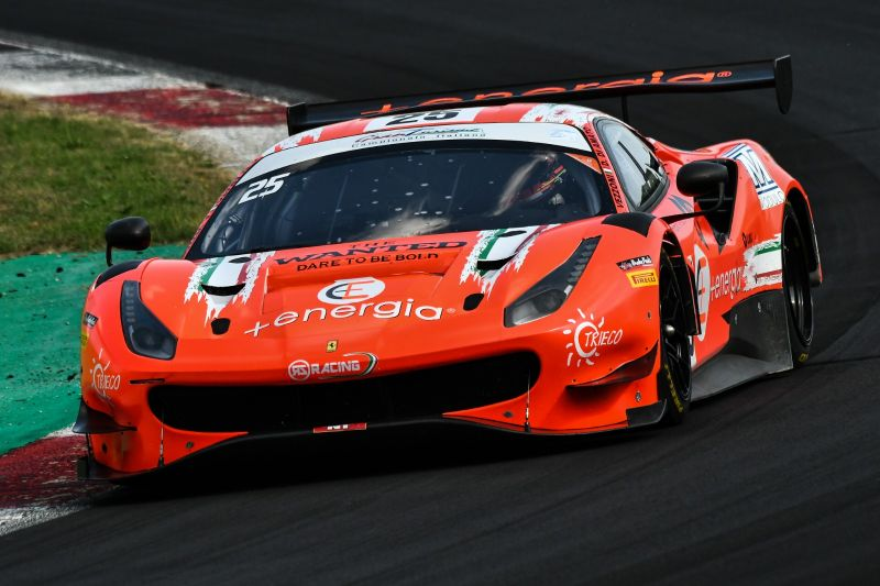 Rs Racing Back For Home Race With A Ferrari For Vezzoni Di Amato Gt Open