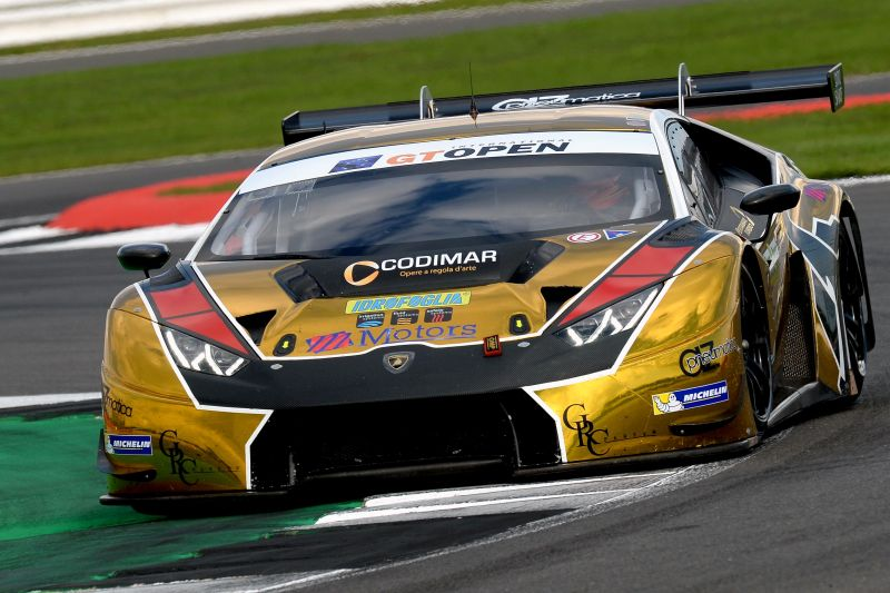 Ratón Lambo shines on Friday at Silverstone - GT Open
